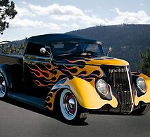 1937 Ford 'Fifties Style' Pickup  by DaveKoontz