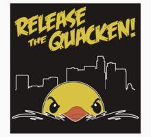 Release The Quacken LA Sticker by AngryMongo