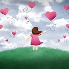 Balloons on a Windy Day by Lina Forrester