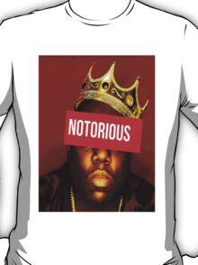 """Biggie """"Notorious King"""" Supreme  T-Shirt"""