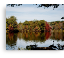 Beginning of Autumn Canvas Print