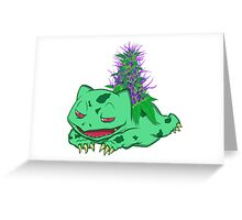 Bulbasaur Greeting Card
