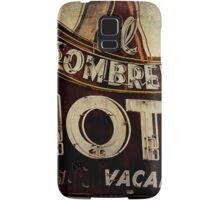 Vintage El Sombrero Motel Sign, Salinas, CA. Samsung Galaxy Case/Skin
