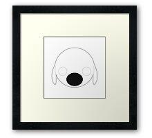 Brian Griffin - Circley! Framed Print