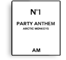 No. 1 Party Anthem Metal Print