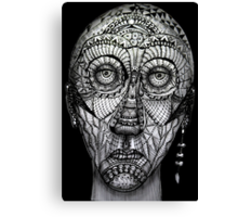Tattoo man Canvas Print