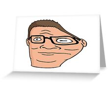 Hank Hill distorted  Greeting Card