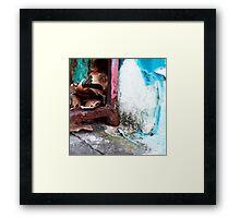 { Corners: where the walls meet #18 } Framed Print