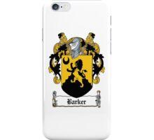Barker  iPhone Case/Skin
