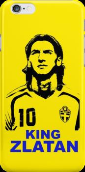 king Zlatan by rodrigoafp