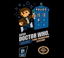"Doctor Who ""SNES Who"" by Dalek42"