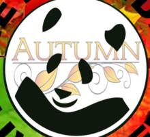 Let panda live free autumn Sticker