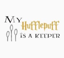 My 'Hufflepuff' Is a Keeper by Flippinawesome
