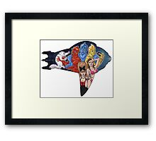 Earth Girls Are Easy Framed Print