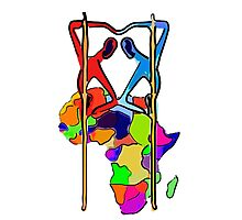 We Are All Africans Photographic Print