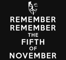 Remember Remember... by kerakas