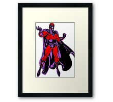 Magneto X-Men Framed Print