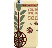 Living with the Land iPhone Case/Skin