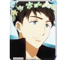 Yamazaki Sousuke Flower Crown iPad Case/Skin