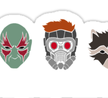 Simple Guardians of the Galaxy Sticker