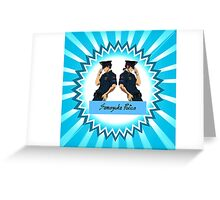 Officer Sourin Greeting Card