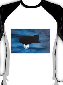 Blimp and moon T-Shirt