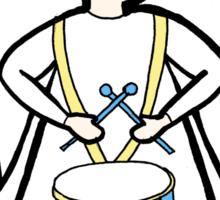 Drum Angel Sticker