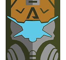 Titanfall Visor by Xander Player