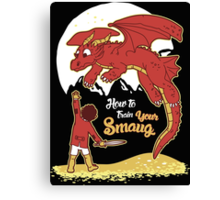 How to Train your Smaug Canvas Print