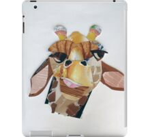 giraffe in doubt iPad Case/Skin