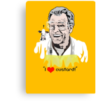 I Love Custard - Walter Bishop - Fringe Canvas Print