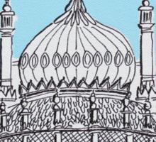 Pavilion Blues Sticker