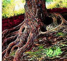 """Tree Spirit"" by Drew Jones"