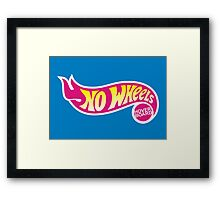 No Wheels: Hoverboard Framed Print