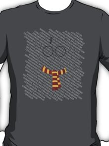 The magic words – scar and scarf T-Shirt