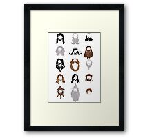The Bearded Company Framed Print