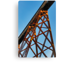 Towering Trestle Canvas Print