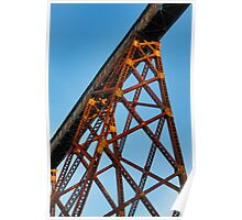 Towering Trestle Poster
