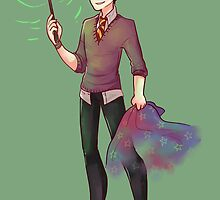 Harry Potter is Green ! by Bleuts