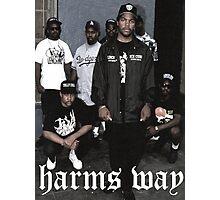 Hardcore rap Photographic Print