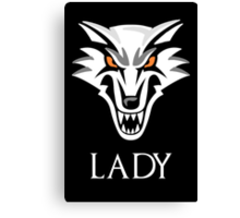 Direwolf Lady Canvas Print