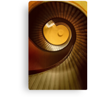 Lighthouse Stairway Canvas Print