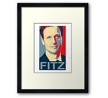 """"""" I'm the Commander in Chief """" - President Fitz * laptop skins, and mugs added * Framed Print"""