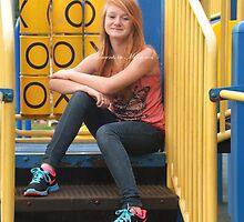 Hope - Back to School Portrait II by Brittany Kinney