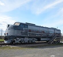 New York  Central   Diesel-Electric  Locomotive   by BearheartFoto