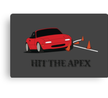 Hit The Apex Canvas Print