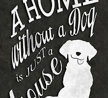 Home with Dog by robozcapoz