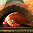 Brick Pizza Oven by AuntDot