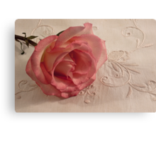 The Beauty Of Just One Rose  Metal Print