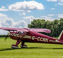 Luscombe Model 8A Silvaire G-CCRK by Colin Smedley